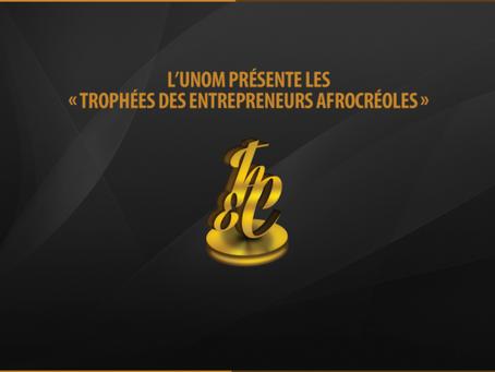 3e édition des Trophées des Entrepreneurs Afro-créoles.