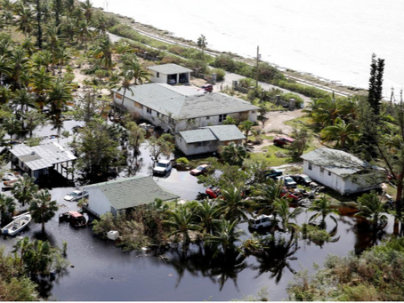 Désastre et désolation aux Bahamas.