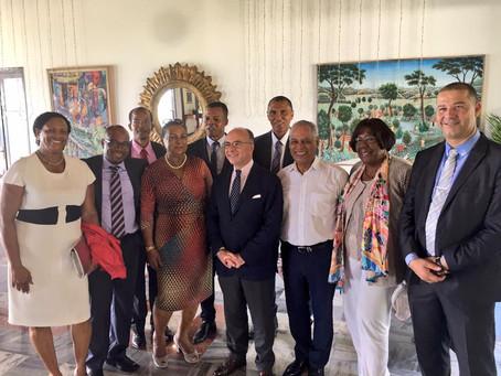 Visite de Bernard Cazeneuve en Guadeloupe (photos)