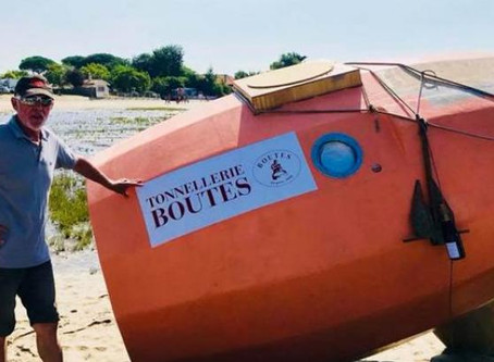 Rallier les îles Canaries à la Guadeloupe dans un tonneau