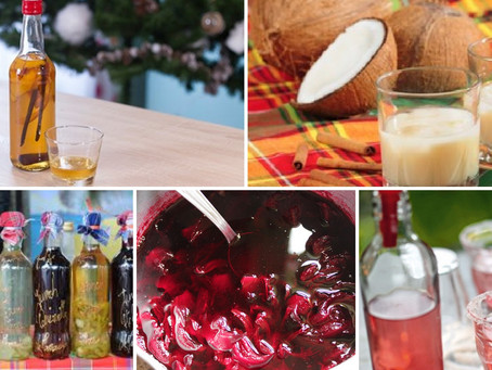 Ces boissons incontournables du Noël antillais.