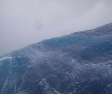 Un drone filme l'intérieur de l'ouragan SAM