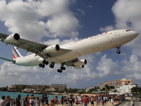 Une touriste tuée par le souffle d'un avion à St Martin