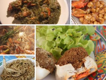 Les 5 plats à base de crabe des Antilles