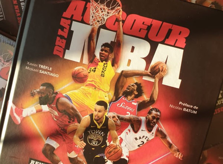 """"""" Au coeur de la NBA"""", le livre des passionnés de Basket."""