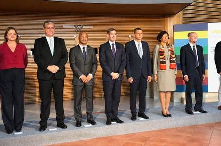 Marie-Luce Penchard à la conférence des présidents des Régions ultrapériphériques aux Canaries