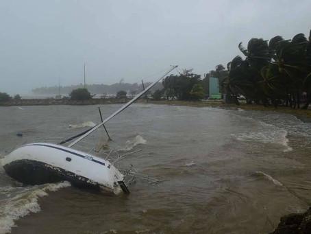 La Guadeloupe sous les eaux ( photos)