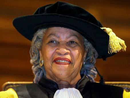 Toni Morrison n'est plus.