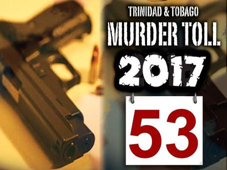 53 meurtres en Janiver à Trinidad & Tobago