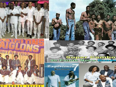 Les groupes mythiques des Antilles-Françaises.