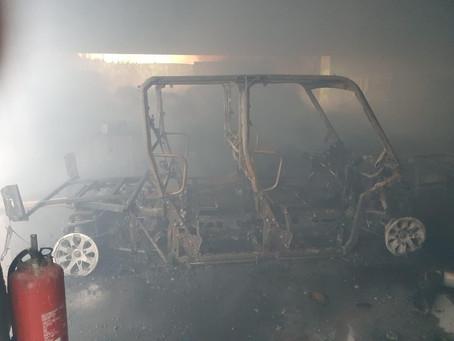 MARTINIQUE : Un hangar de bananes détruit par un incendie criminel au François