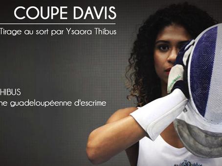 LE TIRAGE AU SORT DU 1ER TOUR DE LA COUPE DAVIS PAR...
