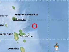 La terre a tremblé en Guadeloupe.