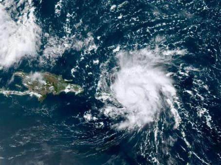 Dorian, premier ouragan de la saison