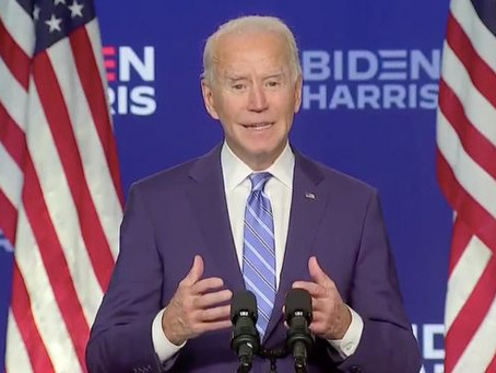 Fin de suspens, Joe Biden est le 46e président des Etats-Désunis.