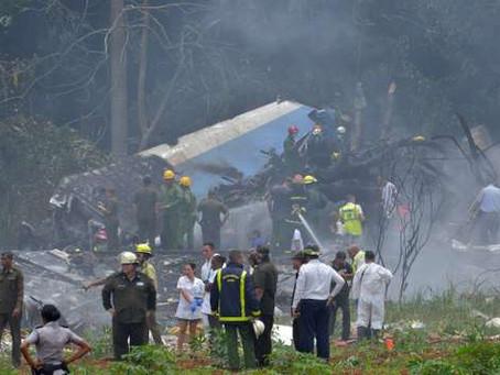 Un avion de la Cubana de aviacion s'est crashé !