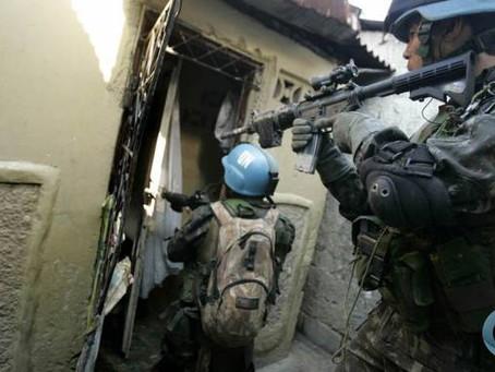 L'ONU met fin à la mission des Casques bleus en Haïti.