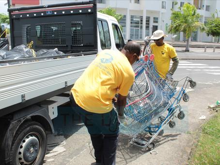 Retour en photos sur la journée de nettoyage à Pointe-à-Pitre