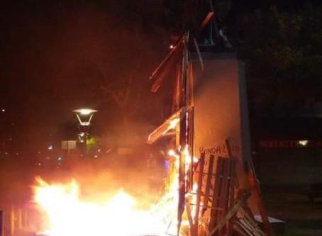 Nuit de violence à Fort-de-France.