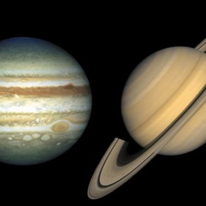 Alinhamento entre Planetas: Júpiter e Saturno Ficarão Próximos em 2020