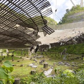 O Fim do Radiotelescópio de Arecibo