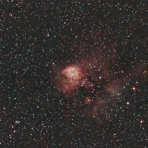 NGC2467 - Nebulosa Skull and Bones Conseguem ver a caveira na foto?