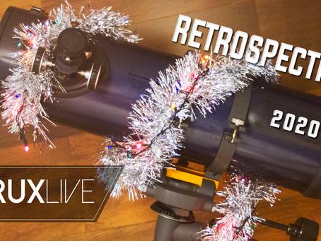 Retrospectiva Astronômica na Live Natalina 2020 - ACRUXLIVE
