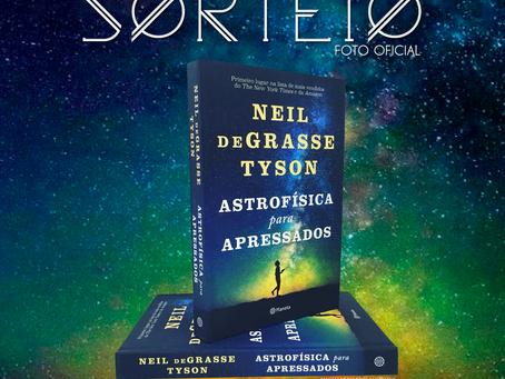 Sorteio Livro Astrofísica para Apressados