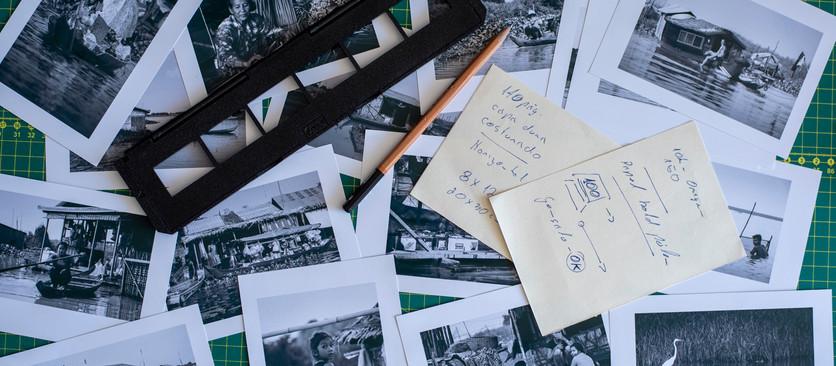Construindo um livro de fotografias