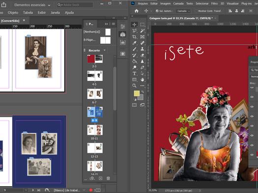 Processo de design de um fotolivro Artisan