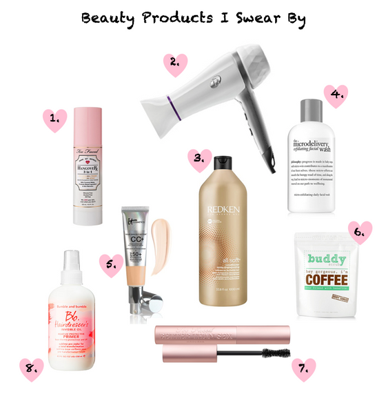 Beauty Products I Swear By