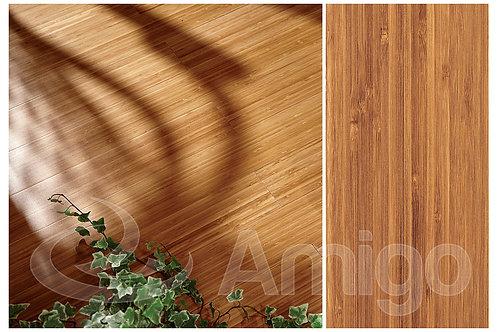 Амиго. Масс. доска.Бамбук. Кофе вертикальный