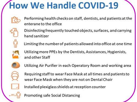 How We Handle COVID-19