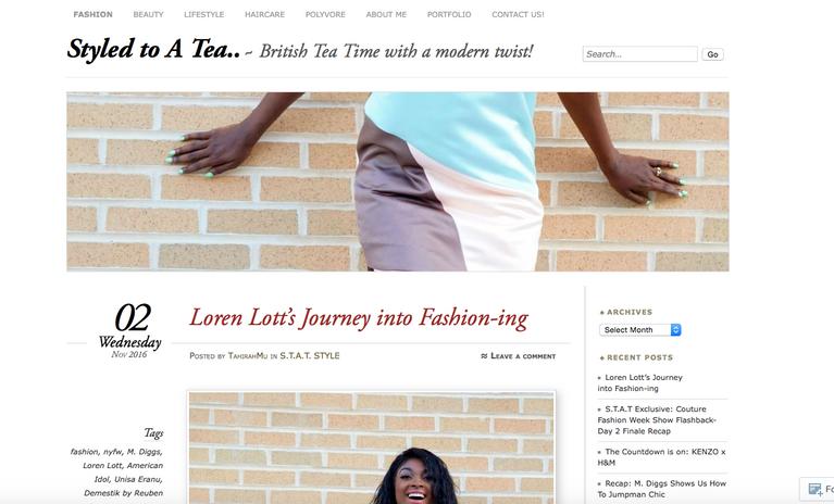 Heir PR x Loren Lott Styled To A Tea Press Credits