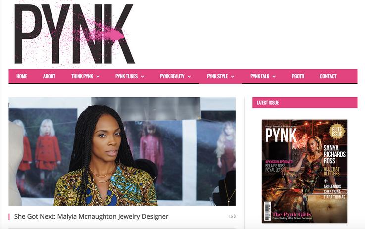 Heir PR x Made by Malyia PYNK Press Credits