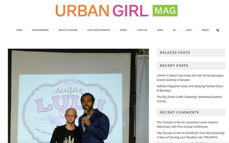 Heir PR x KidFash Magazine Urban Girl Mag Press Credits
