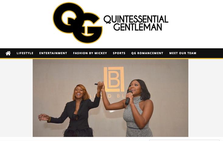 Heir PR x Lucid Bliss The Quintessential Gentleman Press Credits