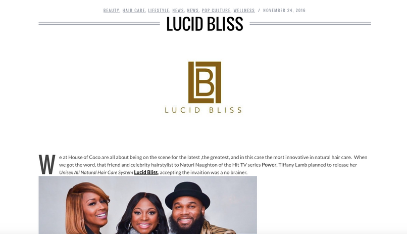 Heir PR x Lucid Bliss House of CoCo Press Credits