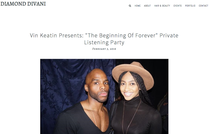 Heir PR x Vin Keatin Diamond Divani Press Credits