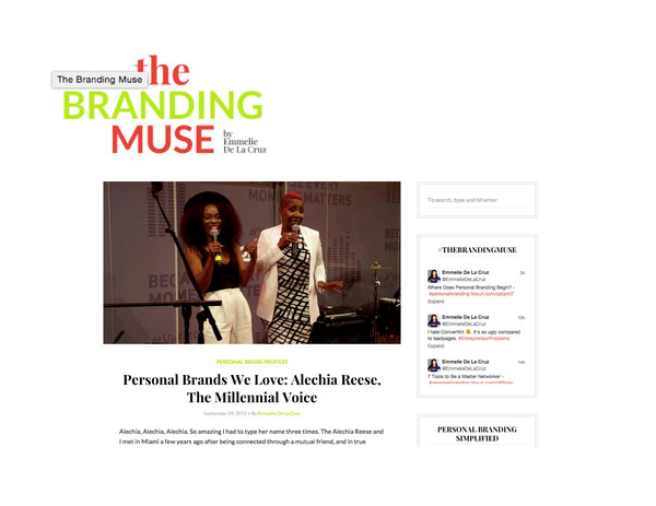 Heir PR x Alechia Reese The Branding Muse Press Credits