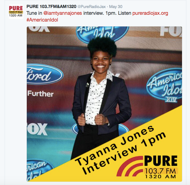 Heir PR x Tyanna Jones PURE Radio Press Credits