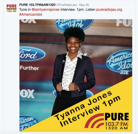 Heir PR x Tyanna Jones PURE Radio Press Credits