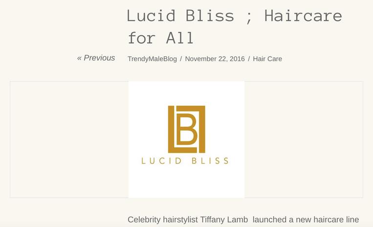 Heir PR x Lucid Bliss Trendy Male Press Credits