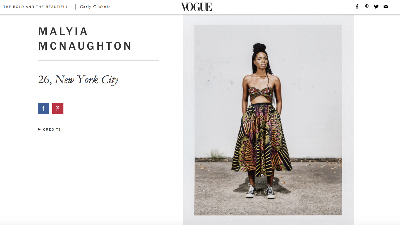 Heir PR x Malyia McNaughton Vogue Press Credits