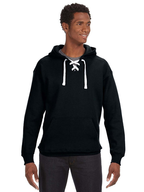 Hockey Lace Hooded Sweatshirt