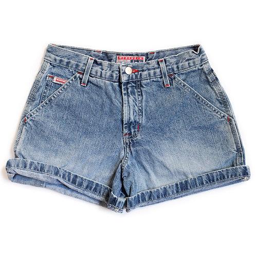 Vintage l.e.i. Medium Wash Mid Rise Shorts - 23/24