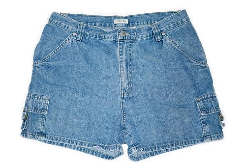 Vintage St. John's Bay Medium Wash High Rise Shorts – Sz 31/32