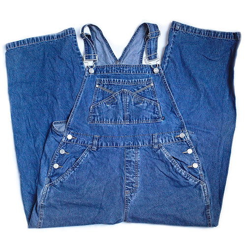 Vintage 90s No Boundaries Denim Overalls / Jeans / Pants - XL