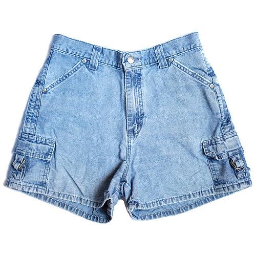 Vintage Lee High Rise Carpenter Shorts - 29