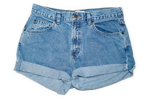 Vintage GAP Medium Wash High Rise Cuffed Shorts - Sz 29/30